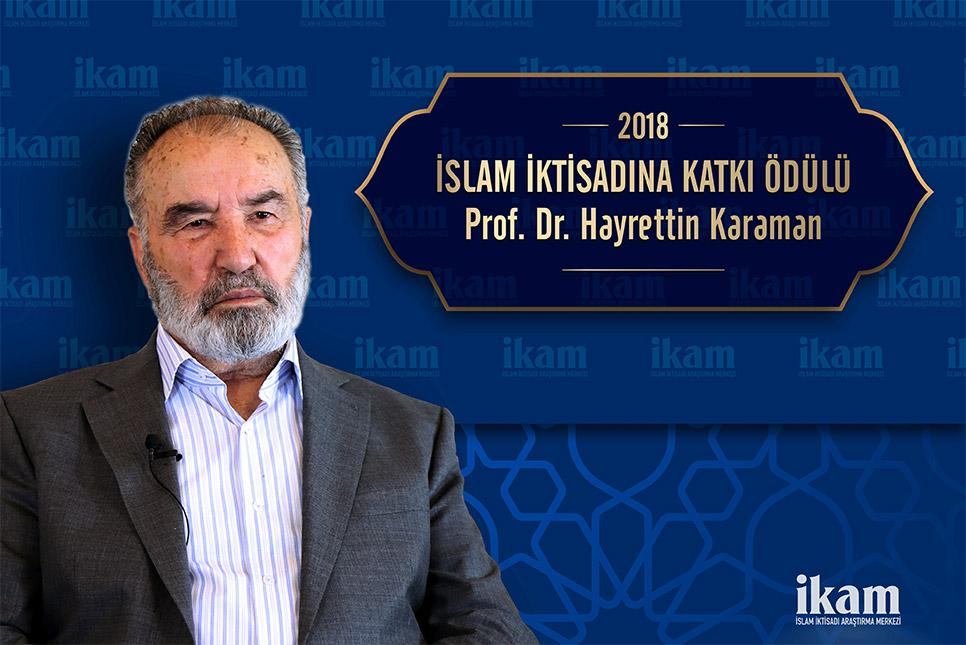 İslam İktisadına Katkı Ödülü